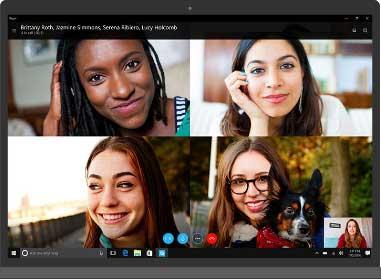 Skype画面1